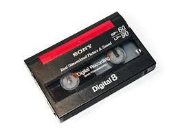 digital8 tape to DVD or USB in Perth, Australia