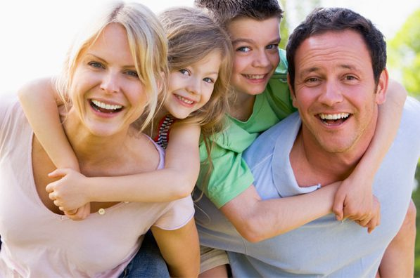 Stock photo of family memories to convert to DVD and USB