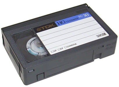 VHS-C tape to DVD or USB in Perth, Australia