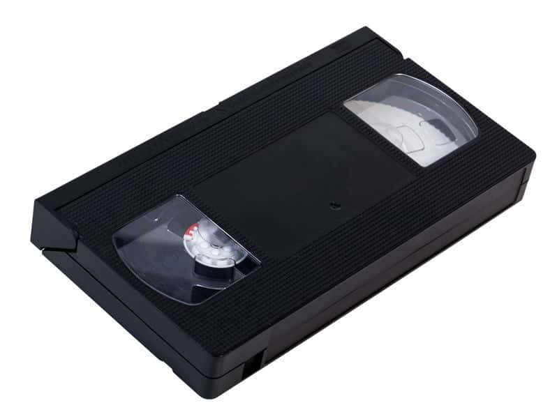VHS tape to DVD or USB in Perth, Australia
